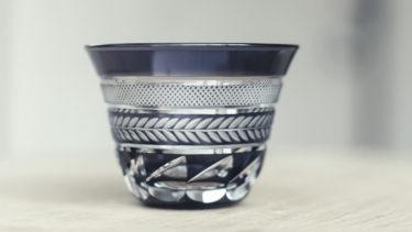 江戸切子のぐい呑みやグラスに刻まれる代表的な伝統文様